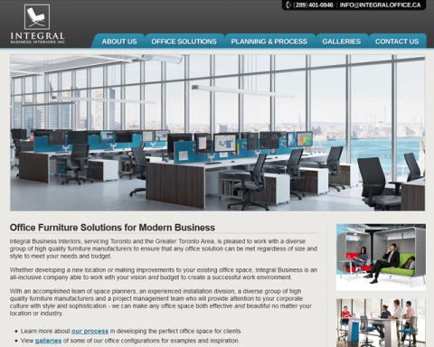 Integraloffice.ca Screenshot