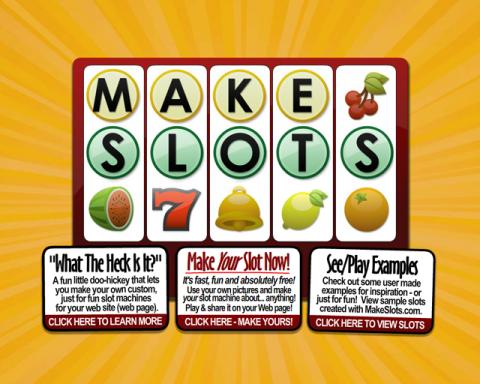 Makeslots.com Screenshot